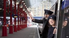 The stars of Blackadder have recorded some funny announcements for travelers on Chiltern Railways