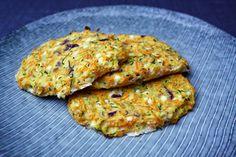 Disse melfri og proteinrige pandekager blev virkeligt vellykkede både i smag og konsistens! De har en dejlig fylde, som mætter godt og så ser de jo også vældig fine ud, gør de ikke? :-) Jeg tænker ogs
