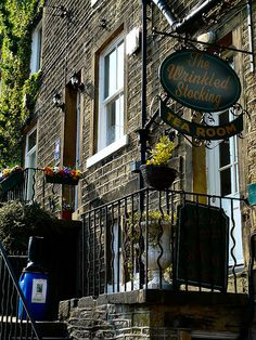 Holmfirth, West Yorkshire. Nora Batty's house from Last of the Summer Wine. Must visit again