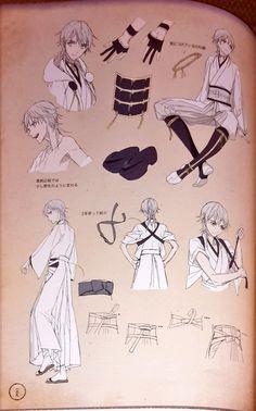 Kết quả hình ảnh cho touken ranbu fanbook