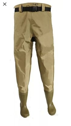 TFG Hardwear Pro Waist Waders Cleated Sole 9 Fishing Boots Belt Carry Bag New Fishing Boots, Carry Bag, My Ebay, Cleats, Parachute Pants, Khaki Pants, Bags, Shopping, Fashion