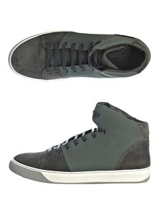 Lanvin High Tops   #shoes #highTops - Not some bad looking shoes if I may say so.