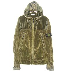 Stone Island, Light Reflective Glass Effect Cagoule, Football Casuals, Cool Jackets, Stone Island, Italian Fashion, Sportswear, Men's Fashion, Raincoat, Military, Style Inspiration