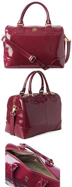 Tory Burch Robinson Bowling Bag i love the color feb9388c562d4