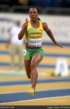 Veronica Campbell Brown Running