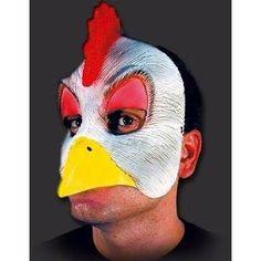 máscara de frango