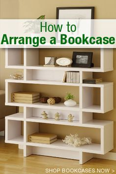 How to Arrange a Bookcase | Overstock