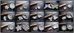 Aluminas Peças em Alumínio.: Kit Frisador Flores E Tecidos Em Alumínio Lançamen...