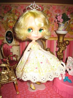 Frosty Frock Blythe | Flickr - Photo Sharing!
