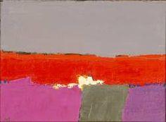 Nicolas de Staël, Bord de mer, 1952, huile sur toile, 54,13 x 73, 03 cm, Milwaukee Art Museum