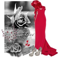 """In Love With Marchesa"" by jacque-reid on Polyvore"