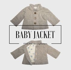 Download the free baby jacket pattern in pdf format I've written a tutorial on How to make a baby jacket, I've been working on digitizing the sewing pattern lately. I'm so happy to share it with you, so that you can also make this baby jacket for you little one. It's available from size 62 to … Continue reading Free Baby Jacket Pattern →
