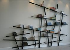 Wall Bookshelves Designs Wall Mounted Bookshelves Designsunique Wall Mounted Bookshelves Design Chicago House Ideas Fbbdfd Unique Creative Modern Bookshelf Design - Home Design Unique Wall Shelves, Creative Bookshelves, Modern Bookshelf, Bookshelf Design, Wall Shelves Design, Display Shelves, Wall Shelving, Bookshelf Ideas, Book Shelves