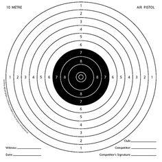 100 x 14cm Air Rifle Shooting Gun Targets 4 x Mixed
