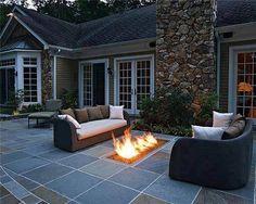 Great back patio idea!