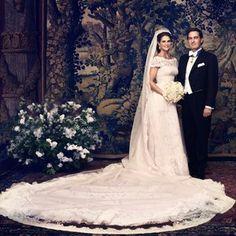 Madeleines Hochzeit: Das offizielle Hochzeitsfoto von Prinzessin Madeleine und Chris O'Neill