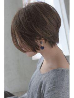 メルバイピュール(mer by PUUR) 大人綺麗なショートヘア 【セミウェット、パーソナルカラー】
