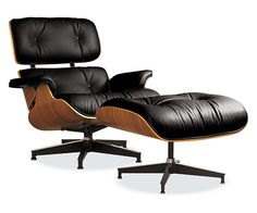 1 if my favorite chairs - Eames® Leather Lounge Chair & Ottoman - Chairs - Living - Room & Board