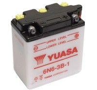 Yuasa 6N6-3B-1 Motorcycle Batteries