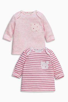 Kaufen Sie T-Shirts mit Erdbeermotiv, rosa, Doppelpack (0 Monate – 2 Jahre) heute online bei Next: Deutschland
