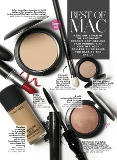 Best Of: MAC — Beautezine Oh no they didn't...I would agree with Ruby Woo and Warm Soul, but All that Glitters? Try Naked Lunch instead. I also haven't touched a MAC mascara in years. Not when you have CG Lashblast Volume or Benefit's They're Real mascaras.