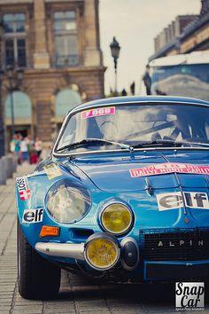 Alpine Berlinette | Événement : Vincennes en Anciennes - Été… | Flickr