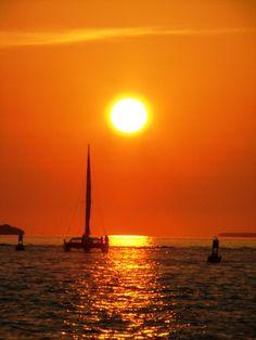 Sailing into the Sunset - Key West, Florida Copyright: Doug Toombs