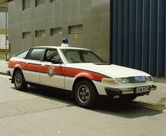 Rover 3500   SD1 - West-Midlands police