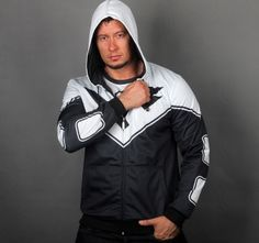 The Avengers superman beyond mens hoodie black and white