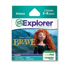 Amazon.com: LeapFrog Disney Pixar Brave Learning Game (Works with LeapPad Tablets, LeapsterGS, and Leapster Explorer): Toys & Games