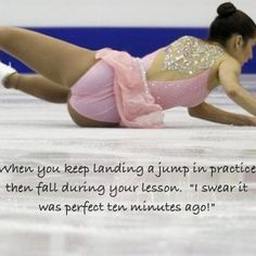 and when you land the jump and your coach is not watching!!