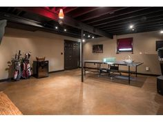 unfinished basement ideas Unfinished Furniture Staining Design