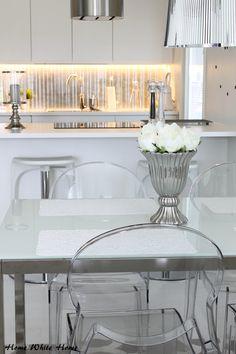 Home White Home: Pitkästä aikaa kuvia keittiöstä