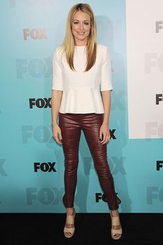 Cat Deeley at the FOX Upfront Presentation - celebrity fashion