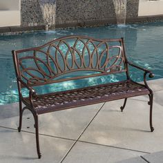 Christopher Knight Home Virginia Outdoor Bench - Overstock Shopping - Great Deals on Christopher Knight Home Outdoor Benches