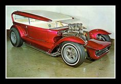 "Dave Stuckey's ""Lil' Coffin"" Show Car, 1960's by Cosmo Lutz, via Flickr"