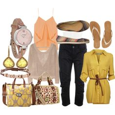 Fossil-inspired. Cute!