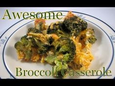 Atkins Diet Recipes:  Awesome Broccoli Casserole (IF)