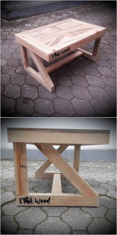 Bring this excellent wood pallet table design in your house and add your house with the awe-inspiring feeling impression. It is settled at the best with the wood pallet premium usage right into it where the roughness of the wood pallet has been bringing a beautiful custom appearance.