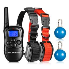 Kulannder Shock Collar for Dogs with 330yd Remote, Rechargeable training Collar Safe for Dog with the model of Beep/Vibration and Shock Electric Train Collar >>> Want additional info? Click on the image. (This is an affiliate link and I receive a commission for the sales)