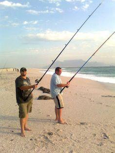 fishing at Blouberg