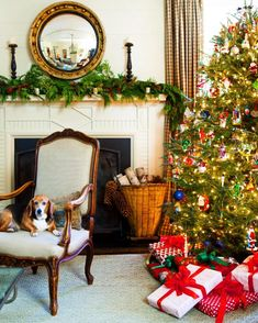 """Arianne Scheffer on Instagram: """"""""Designer Beth Ervin trims her colonial revival-style Buckhead home for the holidays, calling on classic flourishes for an effect that's…"""""""