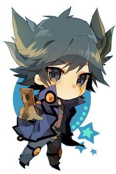 Yusei Fudo cute!