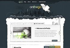 OnTheGo is a completely hand-drawn theme that was scanned in and compiled to create a fresh and interesting design. It is fun and playful while maintaining an air of professionalism, and its unique appearance is sure to make your website stand out amongst the crowd. OnTheGo can act as a page-based CMS, or as a traditional blog.