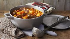 Sausage, pumpkin and sage casserole - for halloween or bonfire night