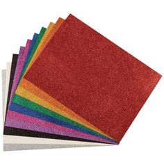 Add sparkle to any arts and crafts project without a lot of mess with these glitter sheets! Includes 10 glitter sheets in assorted colors. Each sheet measures x inches. Kids Craft Supplies, Craft Projects For Kids, Arts And Crafts Projects, Project Ideas, Diy Crafts For Home Decor, Easy Diy Crafts, Handmade Crafts, Crafts To Make And Sell, Sell Diy