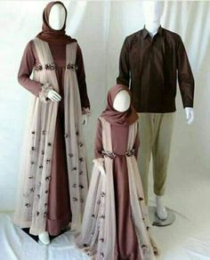 and baby hijab (notitle) Modest Fashion Hijab, Casual Hijab Outfit, Muslim Fashion, Women's Fashion Dresses, Hijab Gown, Hijab Dress Party, Mom And Baby Outfits, Mother Daughter Matching Outfits, Baby Hijab