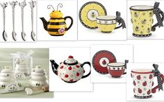 Tea Time. For links to the products please visit the blog.