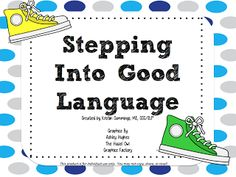Stepping Into Good Language! from Simply Speech   Following Directions, categorization/soring and inferencing. Pinned by SOS Inc. Resources http://pinterest.com/sostherapy.