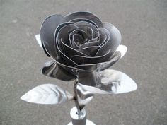 Stainless Steel Rose - MIG Welding Forum